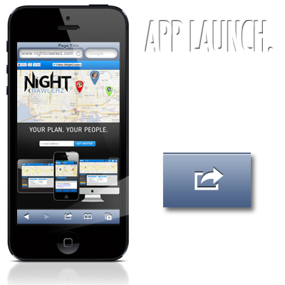 Launch the App with 1 click.